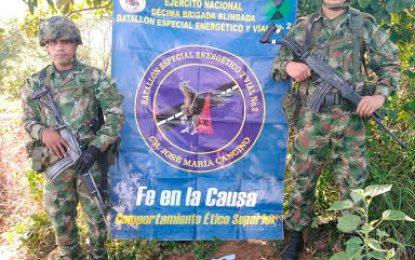 Ejército destruye 12 minas antipersonales del ELN