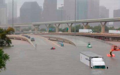 Empeorarían las inundaciones sobre Texas por Harvey
