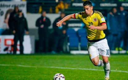 James será convocado por Pékerman para juegos ante Venezuela y Brasil