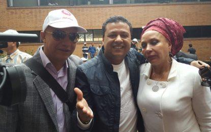 Un vallenato encabezó delegación de Piedad Córdoba en su sueño por la Presidencia