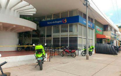 Asaltan  sucursal de Banco de Bogotá en Valledupar