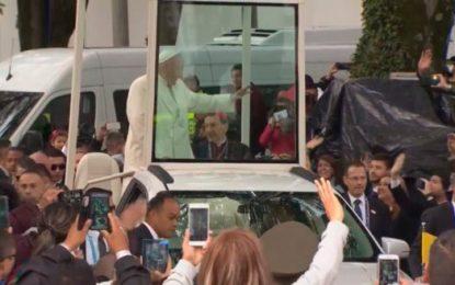 Bogotá le brindó apoteósica despedida al Papa Francisco