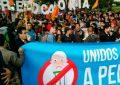Cientos de bogotanos salieron a las calles para pedir la revocatoria de Peñalosa