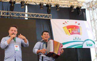 Talento y alegría en Festival Vallenato Fides