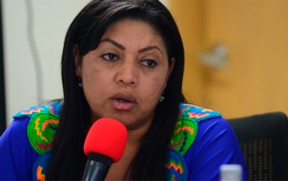 Oneida Pinto quedó en libertad por vencimiento de términos