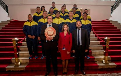 Jóvenes rugbiers de Riohacha serán protagonistas del intercambio de Diplomacia Deportiva en Georgia