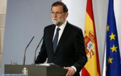 Gobierno español decide el sábado medidas de intervención en Cataluña incluida la suspensión de la autonomía