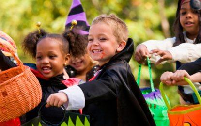 Policía advierte cuidados con los niños en el día de Hallowenn