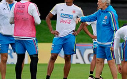 Selección Colombia viaja a Perú para decisivo partido ante los incas