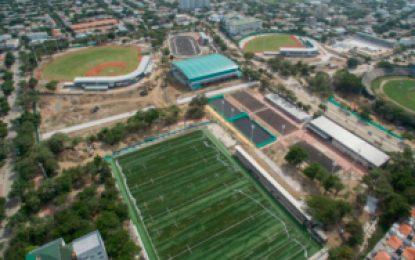 Escenarios deportivos para los bolivarianos superan el 90 por ciento de obras