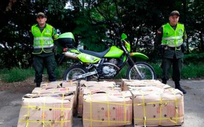 1.100 kilos de carne que eran transportados en cajas fueron incautados por la Policía en Cesar