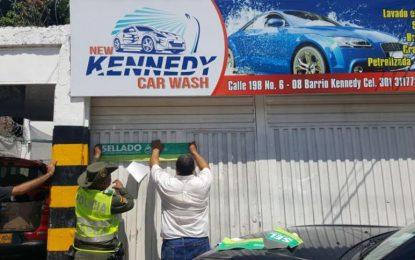 Cierran 14 lavaderos de carros en Valledupar