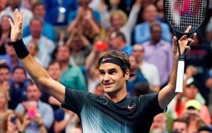 Federer remonta ante Cilic y espera por Goffin o Thiem en semis de Londres