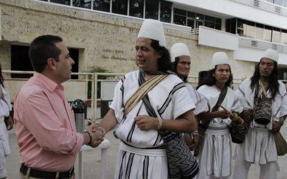Arhuacos abandonaron la plazoleta de la Gobernación del Cesar