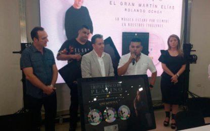 Sin Límite así fue la venta del nuevo disco de Martin Elías