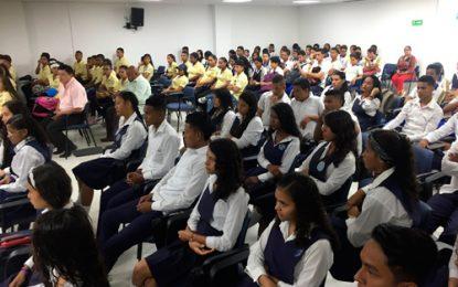 Estudiantes de 11 de los corregimientos de Valledupar participaron en 2da Feria Universitaria