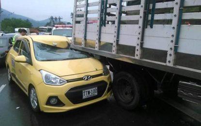 18 personas mueren diariamente en accidentes de tránsito en Colombia