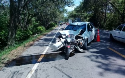 Dos hombres y una mujer murieron en accidente en La Jagua de Ibirico