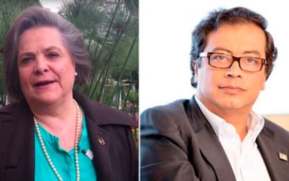 Alianza entre Clara López y Gustavo Petro para listas al Congreso