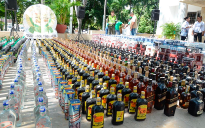Gobernación destruirá licor adulterado y de contrabando incautado en Cesar