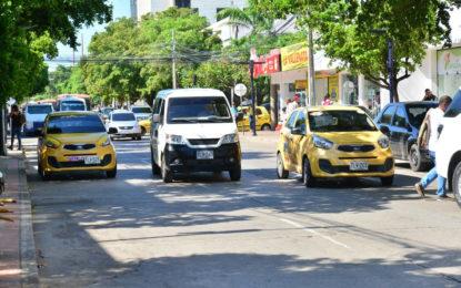 Prima navideña de $500 para los taxistas en Valledupar es voluntaria