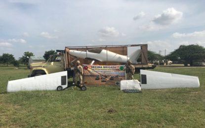 En un camión transportaban avioneta del narcotráfico en La Guajira