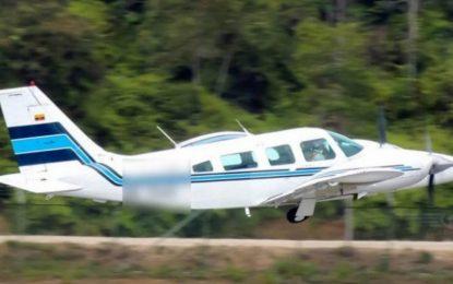 Secuestran avioneta que transportaba dinero en Aguachica