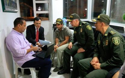 Circular azul contra Jeferson Mina, presunto responsable de atentado en Barranquilla