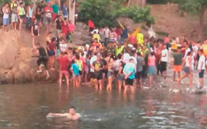Murió hombre de 42 años que se tiró del puente colgante en Hurtado