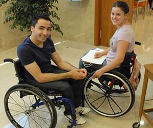 universitarios discapacidad