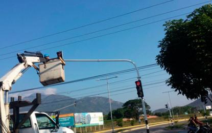 Cambio de iluminación LED en 45 semáforos en Valledupar