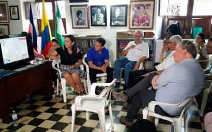 Ante MinCultura,SIVA socializó obra del Centro Histórico de Valledupar