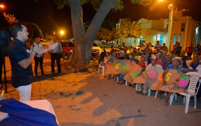 Socializan en Villa Miriam programa de pavimentación de la Alcaldía de Valledupar