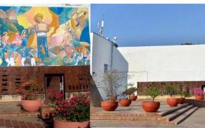 Polémica por mural de Germán Piedrahita que borraron del Concejo de Valledupar