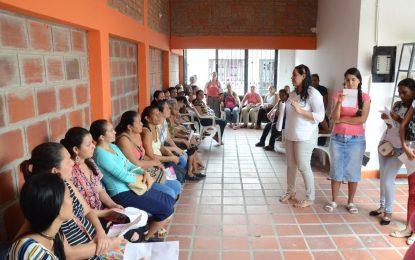 Más de 850 mujeres se inscribieron para cursos de la Casa Taller Beatriz García de Vigna de Aguachica