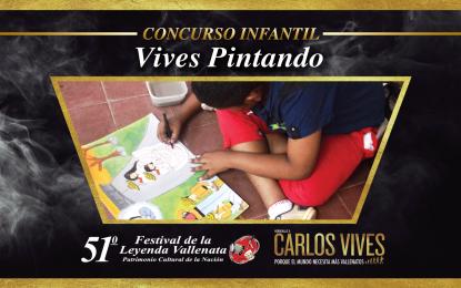 Inscripciones abiertas para el concurso 'Vives pintando' del Festival Vallenato