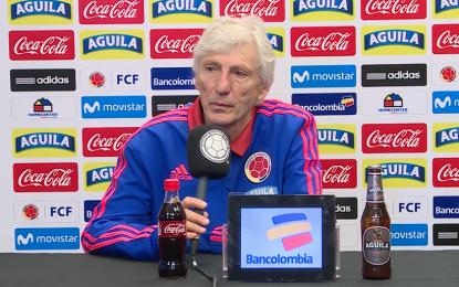 """""""Tenemos un buen equipo y eso es lo importante"""": José Pékerman"""
