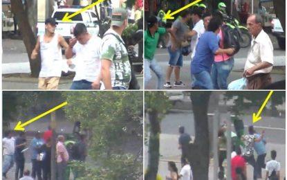 Fiscalía revela imágenes de los presuntos agresores de Gustavo Petro en Cúcuta
