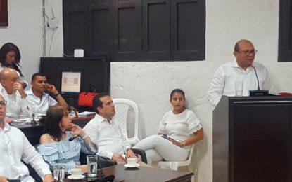 """Esta será una presidencia de la zona rural"""": Triana en instalación de sesiones del Concejo"""