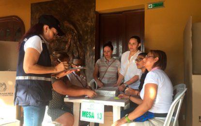 Autoridades garantizan normalidad en las elecciones en Cesar