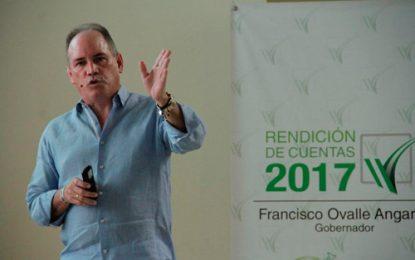 Un billón de pesos la inversión del gobierno de Ovalle en Cesar en el 2017