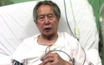 Hospitalizado de urgencia expresidente Alberto Fujimori
