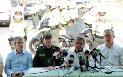 40.000 uniformados vigilarán las vías nacionales para reducir accidentes durante Semana Santa