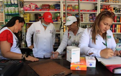 Salud detecta irregularidad en 11 droguerías de Valledupar