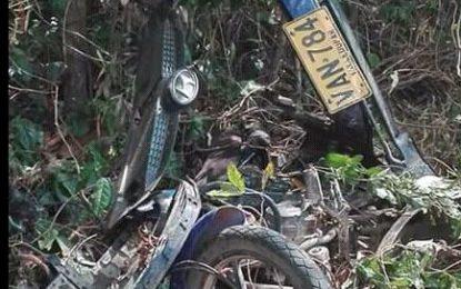 Tragedia vial en Chimichagua: 2 muertos y un herido