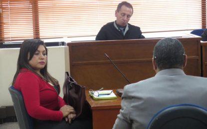 Juez decidirá este martes si otorga o no la libertad a Oneida Pinto