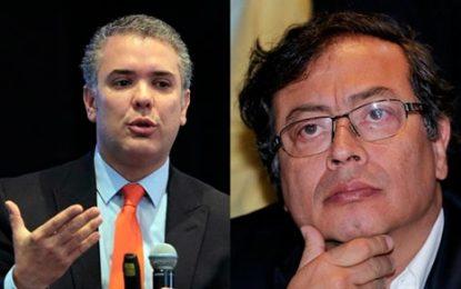 Primera encuesta sobre segunda vuelta presidencial: Ivan Duque, 55%; Gustavo Petro, 35%