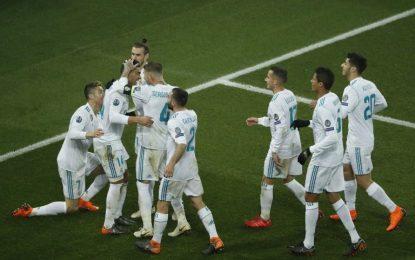 Real Madrid derrotó al PSG y se instaló en los cuartos de final de la Champions