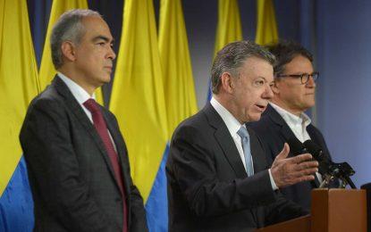 Santos ordena reactivación de mesa de diálogo con Eln