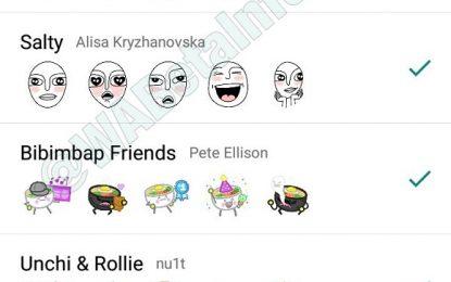 WhatsApp: así lucirán los primeros stickers para sus chats